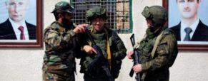 La Russie accuse les Américains de vouloir bombarder Damas