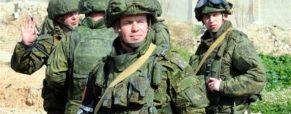 L'armée de terre russe à Damas